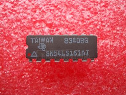 SN54LS161AJ SYNCHRONOUS 4-BIT COUNTERS