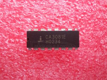 CA3081E General Purpose High Current NPN Transistor Arrays