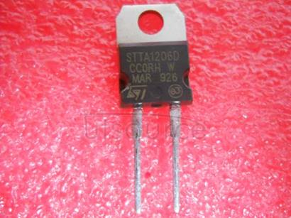 STTA1206D TURBOSWITCH TM ULTRA-FAST HIGH VOLTAGE DIODE