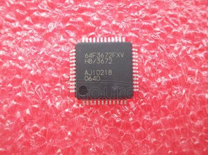 64F3672FXV Hitachi   Single-Chip   Microcomputer