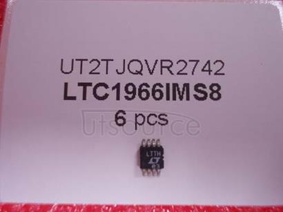 LTC1966IMS8 Precision Micropower, SIGMA RMS-to-DC Converter