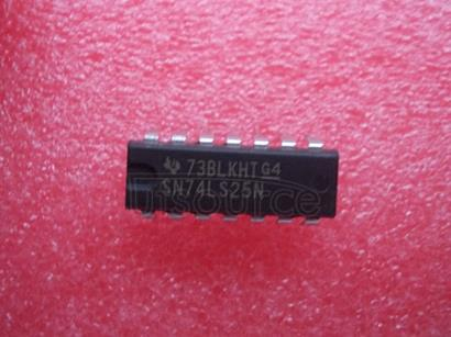 SN74LS25N LOW   POWER   SCHOTTKY