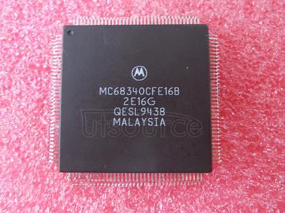 MC68340CFE16B Integrated Processor with DMA User's Manual