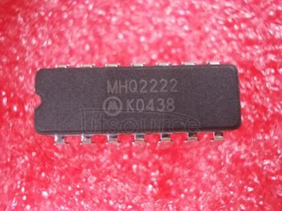 MHQ2222 Quad   Dual-In-Line   NPN   Silicon   Transistors