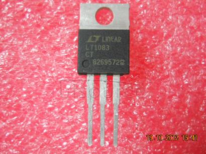 LT1083CT 3A, 5A, 7.5A Low Dropout Positive Fixed Regulators