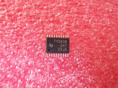 TLV5608IPW 8-CHANNEL, 12-/10-/8-BIT, 2.7-V TO 5.5-V LOW POWER DIGITAL-TO-ANALOG CONVERTER WITH POWER DOWN