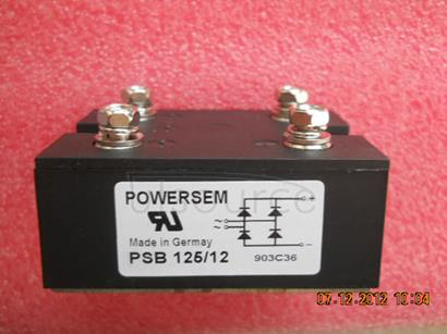 PSB125/12 Single   Phase   Rectifier   Bridges