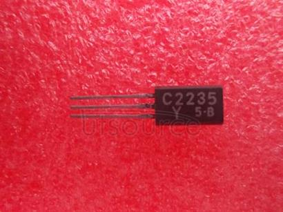 2SC2235/Y TRANSISTOR   (AUDIO   POWER,   DRIVER   STAGE   AMPLIFIER   APPLICATIONS)