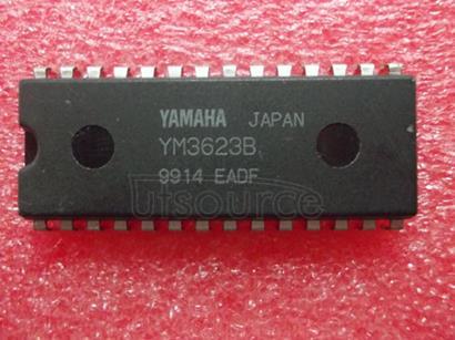 YM3623B DIGITAL   AUDIO   INTERFACE   RECEIVER