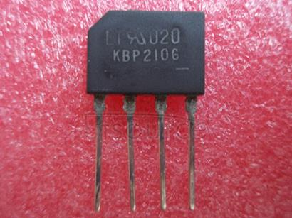 KBP210 SINGLE   PHASE   2.0   AMPS.   SILICON   BRIDGE   RECTIFIERS