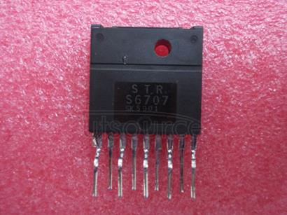 STRS6707 OFF-LINE SWITCHING REGULATORS - WITH BIPOLAR SWITCHING TRANSISTOR