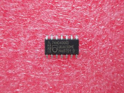 74HC4066D Quad bilateral switches
