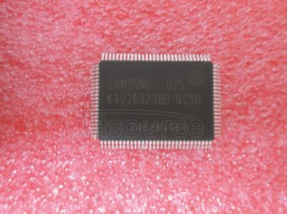 K4D263238D-QC50 1M x  32Bit  x 4  Banks   Double   Data   Rate   Synchronous   DRAM   with   Bi-directional   Data   Strobe   and   DLL