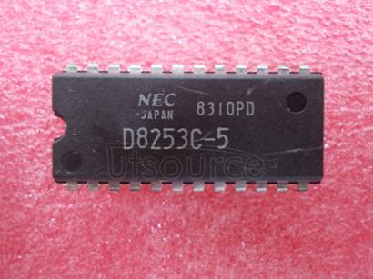 D8253C-5 PROGRAMMABLE INTERVAL TIMER