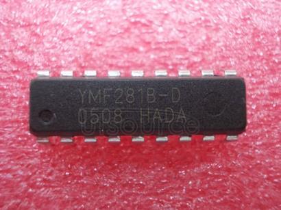YMF281B-D OPL3   LOW   VOLTAGE   VERSION