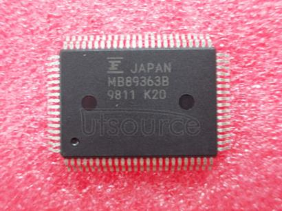 MB89363-PF-G-BND 8-bit   Proprietary   Microcontrollers   F2MC-8L   MB89051   Series