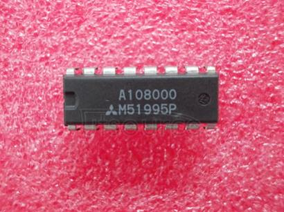 M51995P Switching Regulator Control Voltage Mode type AC/DC <br/> Vin V max.: 10 to 35<br/> Icc mA max.: 21<br/> Fmax kHz max.: 500<br/> Topr [Tjopr] &#176<br/>C: -30 to +85<br/> Remarks: Primary control MOSFET drive<br/> Package: DIP-16<br/> Pin count: 16