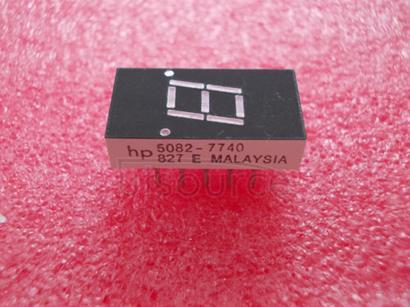 5082-7740 7.6mm 0.3 inch/10.9mm 0.43 inch Seven Segment Display