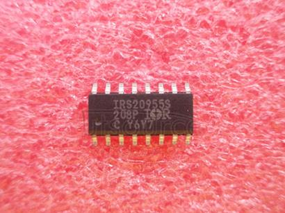 IRS20955STRPBF Protected Digital Audio Driver with Floating PWM input in a 16-Lead SOIC Narrow Package<br/> A IRS20955SPBF packaged in a Lead-Free 16-Lead SOIC Narrow shipped on Tape and Reel