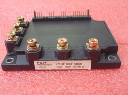7MBP100RA060 8 pin PIC w/CCP/PWM, 10 bit A2D, comparator, midrange core, 2K words flash, -40C to +85C, 8-PDIP, TUBE