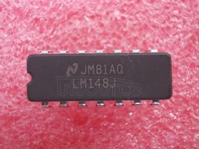 LM148J Series Quad 741 Op Amp