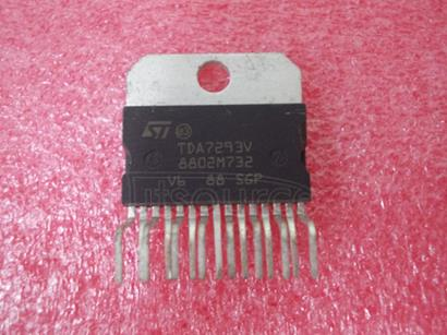 TDA7293V 120V - 100W DMOS AUDIO AMPLIFIER WITH MUTE/ST-BY