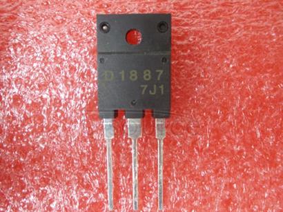 2SD1887 Color TV Horizontal Deflection Output Applications