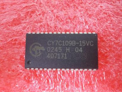 CY7C109B-15VC 128K x 8 Static RAM
