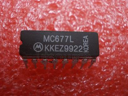 MC677L INTEGRATED CIRCUITS