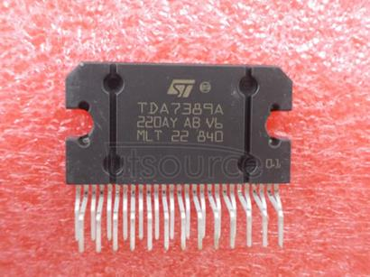 TDA7389A 4 x 45W quad bridge car radio amplifier