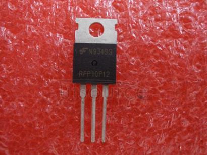 RFP10P12 TRANSISTOR | MOSFET | P-CHANNEL | 120V VBRDSS | 10A ID | TO-220AB