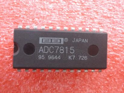 ADC7815 Autocalibrating,   4-Channel,   12-Bit   ANALOG-TO-DIGITAL   CONVERTER