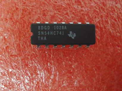 SN54HC74J 3-44V Quad Channel Operational Amplifier, Ta= -40 to +125&#0176<br/>C - Pb-free<br/> Package: SOIC 14 LEAD<br/> No of Pins: 14<br/> Container: Tube<br/> Qty per Container: 55