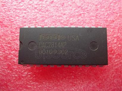 DAC2814AP DUAL 12-BIT DIGITAL-TO-ANALOG CONVERTER Serial Interface