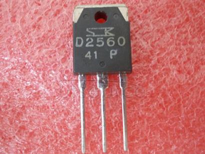 2SD2560 Silicon   NPN   Triple   Diffused   Planar   Transistor(Audio,   Series   Regulator   and   General   Purpose)