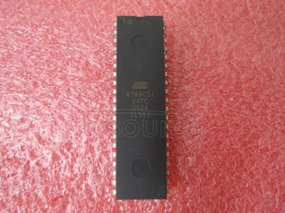 AT89C51-24PC 8-Bit Microcontroller with 4K Bytes Flash