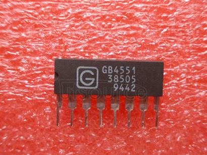 GB4551 Video Op Amp with Strobed DC Restore