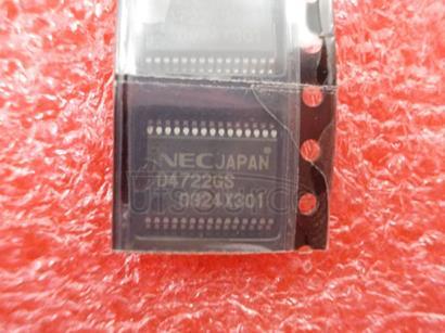 UPD4722GS-GJG RS-232 LINE DRIVER/RECEIVER AT 3.3 V/5 V
