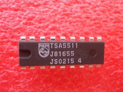 TSA5511 1.3 GHz Bidirectional IIC-bus controlled synthesizer1.3 GHzIIC