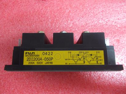 2DI200A-050P BIPOLAR TRANSISTOR MODULES Rating and Specifications