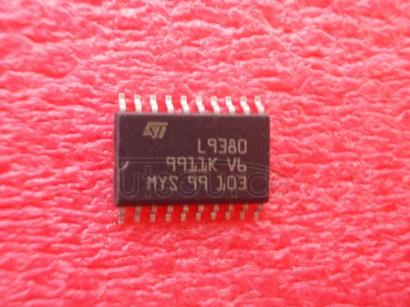 L9380 Triple High-Side MOSFET DriverMOSFET
