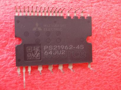 PS21962-4S 600V/5A low-loss 5th generation IGBT inverter bridge for three phase DC-to-AC power conversion