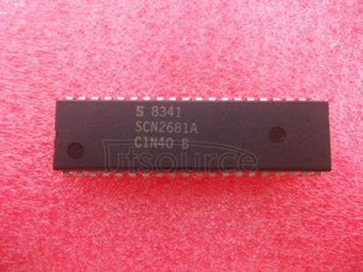 SCN2681AC1N40 Dual asynchronous receiver/transmitter DUART