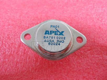 PA01 POWER OPERATIONAL AMPLIFIERS
