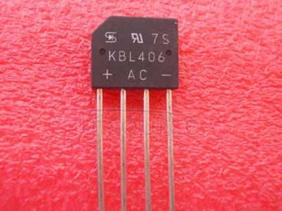 KBL406 4.0A BRIDGE RECTIFIER