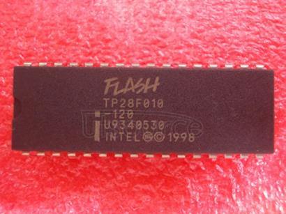 TP28F010-120 28F010   1024K   (128K  X 8)  CMOS   FLASH   MEMORY