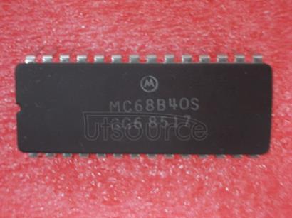 MC68B40S Programmable Timer ModulePTM
