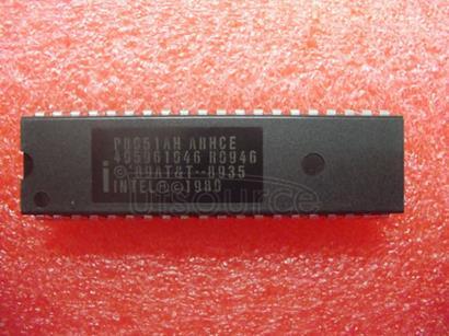 P8051AH 8 BIT CONTROL ORIENTED MICROCOMPUTERS