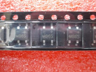 MB6S Miniature Glass Passivated Single-Phase Surface-Mount Bridge Rectifier