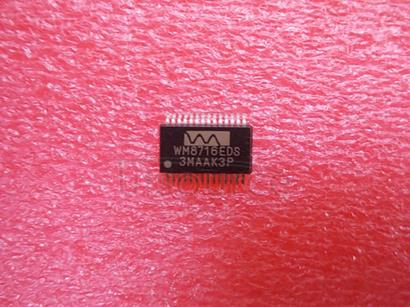 WM8716EDS High Performance 24-bit, 192kHz Stereo DAC